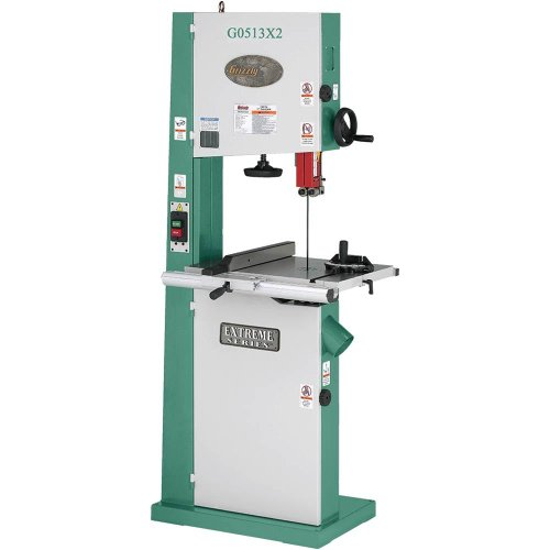 Grizzly G0513x2 Bandsaw 2 Hp 17 Inch